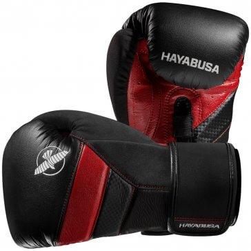 Hayabusa T3 Bokshandschoenen Zwart/Rood Fightgloves.nl Bundel