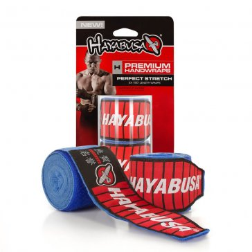 Hayabusa Perfect Stretch 3 Bandage Blauw/Blue