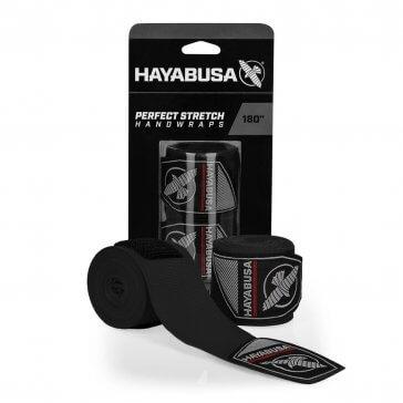 Hayabusa Perfect Stretch 3 Handwraps/Bandage Zwart