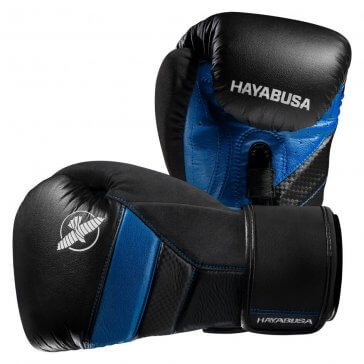 Hayabusa T3 Bokshandschoenen Zwart/Blauw Fightgloves.nl Bundel