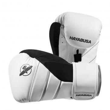 Hayabusa T3 Wit/Zwart Bokshandschoen | Fightgloves.nl