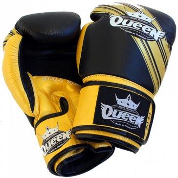 Queen BGQ Vixen 2 Bokshandschoenen Black/Gold Premium
