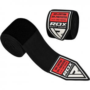 RDX Sports Handwraps HWX Zwart/Black