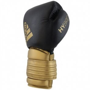 Adidas Hybrid 300 Fightgloves.nl Bundel Zwart/Goud