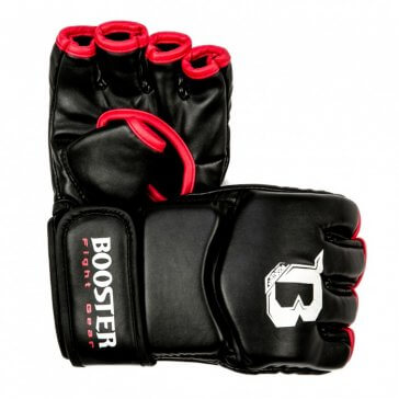 Booster BFF-9 MMA Handschoenen Zwart/Rood