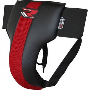 RDX Sports Leather-X Tok/Groin Guard