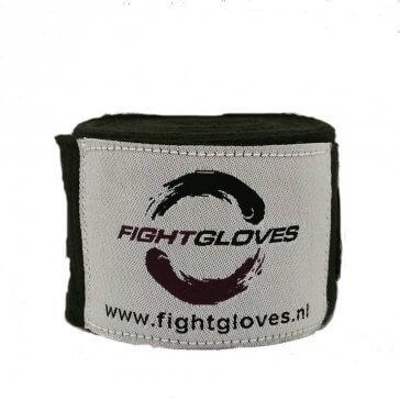 Fightgloves.nl Bandage Zwart
