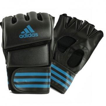Adidas Training Grappeling Handchoenen Zwart/Blauw