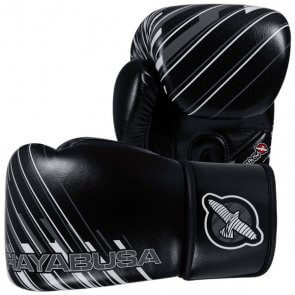 Hayabusa Ikusa Charged Kickboks Handschoenen 16OZ Zwart/Grijs