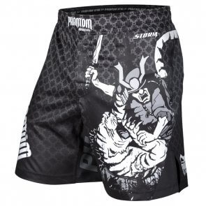 "Phantom Athletics MMA Fightshorts ""STORM Samurai"" Zwart/Grijs"