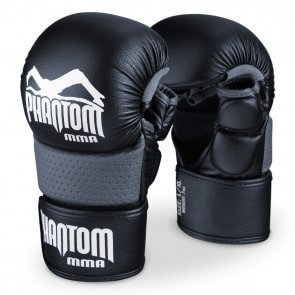 "Phantom MMA Sparring Gloves ""Riot"" Zwart"