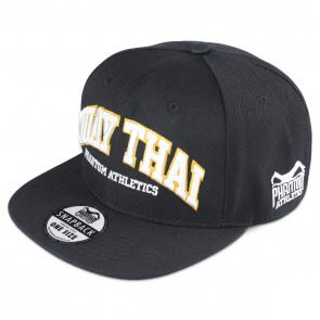 "Phantom Athletics Cap ""Muay Thai"" - Black/Orange"
