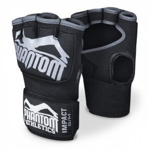 "Phantom Athletics Handwraps Gel ""Impact"" - Black/Zwart"