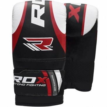 RDX Sports Zakhandschoenen voor Zaktrainingen Zwart/Rood
