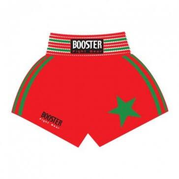 Booster Muay-Thai shorts 'Marokko' rood