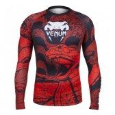 Venum MMA Rashguard Crimson Viper Red