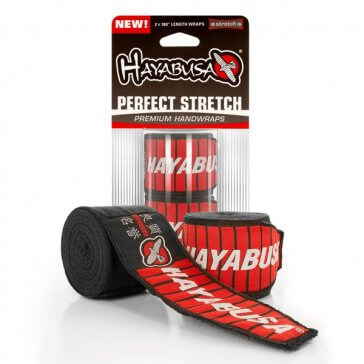 Hayabusa Perfect Stretch 2 Handwraps/Bandage Zwart