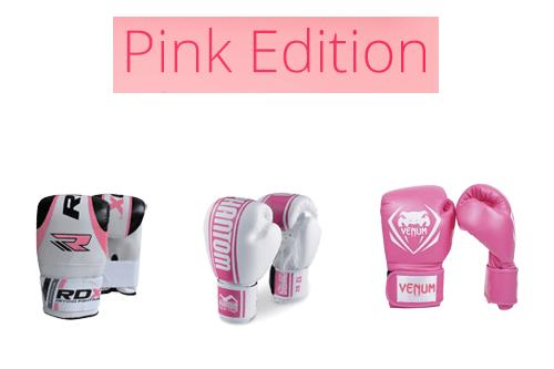 Roze Bokshandschoenen