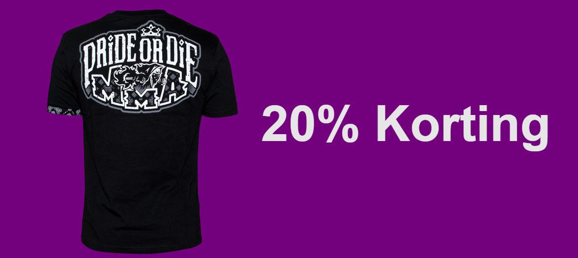 20% korting